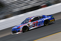 July 20, 2018 - Loudon, New Hampshire, United States of America - Chris Buescher (37) takes to the track to practice for the Foxwoods Resort Casino 301 at New Hampshire Motor Speedway in Loudon, New Hampshire. (Credit Image: © Justin R. Noe Asp Inc/ASP via ZUMA Wire)