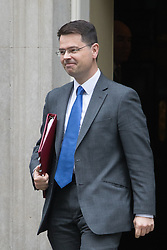 Downing Street, London, October 25th 2016. Northern Ireland Secretary James Brokenshire leaves10 Downing Street following the weekly cabinet meeting and the announcement that the construction of a third runway at Heathrow Airport has initial government approval.