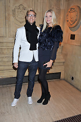 RICK PARFITT Jnr and RACHEL GRETTON at Cirque du Soleil's VIP night of Kooza held at the Royal Albert Hall, London on 8th January 2013.