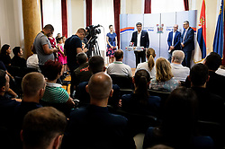 Reception of Women's Eurobasket 2019 teams and FIBA officials at Darko Bulatović, Mayor of City of Nis, on June 29, 2019 in City hall, Nis, Serbia. Photo by Vid Ponikvar / Sportida