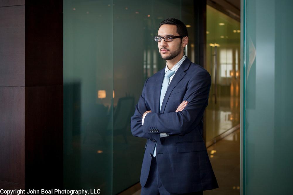 Muhammad Essayed, Fairfax, VA attorney. For GMU Law.