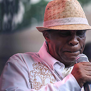 American Jazz drummer Norman Conners performs during the 27th DuPont Clifford Brown Jazz Festival Saturday, June 20, 2015, at Rodney Square in Wilmington, Delaware.