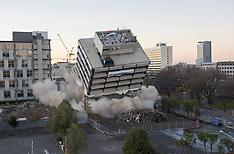 Christchurch-Demolition of former Christchurch Police Station