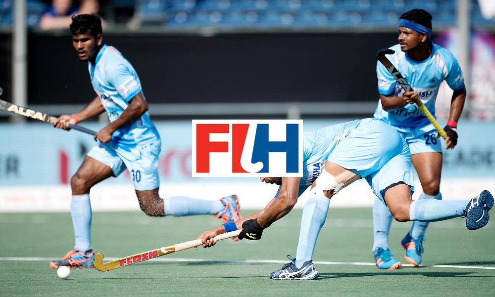 BREDA - Rabobank Hockey Champions Trophy<br /> India - Belgium<br /> Photo: Harmanpreet Singh.<br /> COPYRIGHT WORLDSPORTPICS FRANK UIJLENBROEK