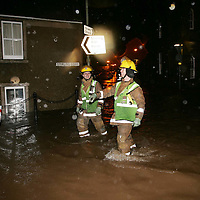 Milnathort Evacuated after heavy rain caused flooding....09.12.2006<br />