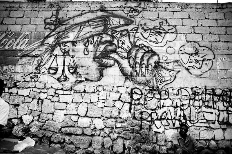 Grafiti. Port Au Prince, Haiti. Photo by Ben Depp