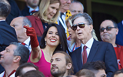 LIVERPOOL, ENGLAND - Sunday, May 12, 2019: Liverpool's owner John W. Henry and hs wife Linda Pizzuti during the final FA Premier League match of the season between Liverpool FC and Wolverhampton Wanderers FC at Anfield. (Pic by David Rawcliffe/Propaganda)
