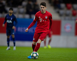 MUNICH, GERMANY - Wednesday, December 11, 2019: Bayern Munich's Taylor Booth during the final UEFA Youth League Group B match between FC Bayern München and Tottenham Hotspur at the FC Bayern Campus. (Pic by David Rawcliffe/Propaganda)