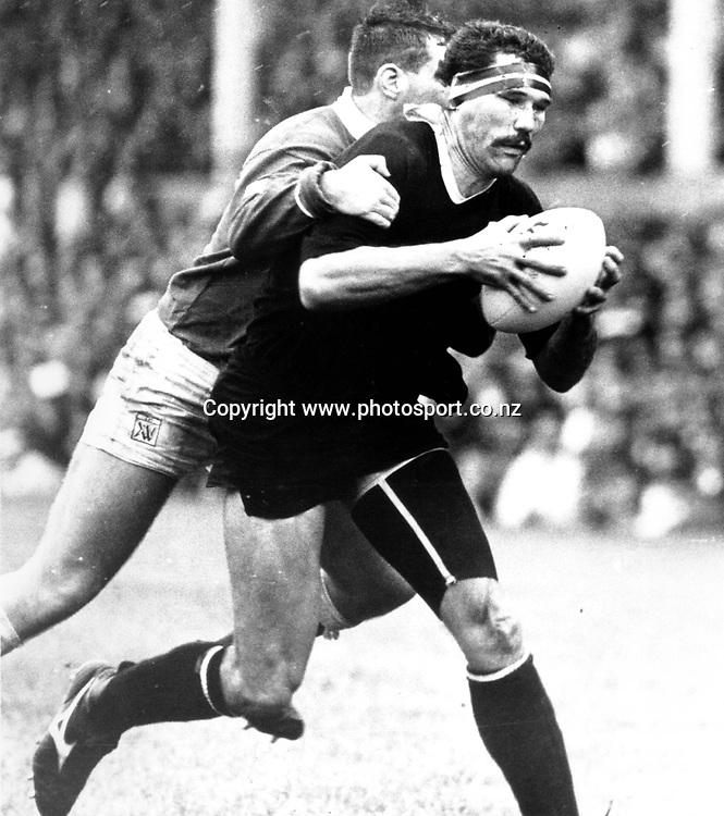 Murray Pierce, 1989, Rugby Union, All Blacks vs Llanelli.