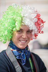 Supporter ITA - Team Competition Grade Ia Para Dressage - Alltech FEI World Equestrian Games™ 2014 - Normandy, France.<br /> © Hippo Foto Team - Jon Stroud <br /> 25/06/14