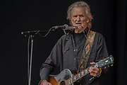 Kris Kristofferson plays the Pyuramid Stage - The 2017 Glastonbury Festival, Worthy Farm. Glastonbury, 23 June 2017