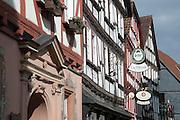 Rathaus, Altstadt, Grünberg, Vogelsberg, Hessen, Deutschland