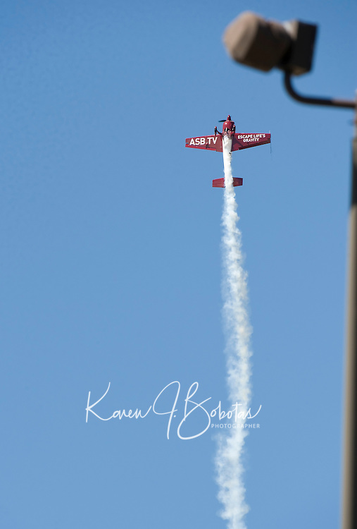Practice day on August 27, 2010 for Air Show at Pease Portsmouth, NH .  Karen Bobotas for the Laconia Daily Sun