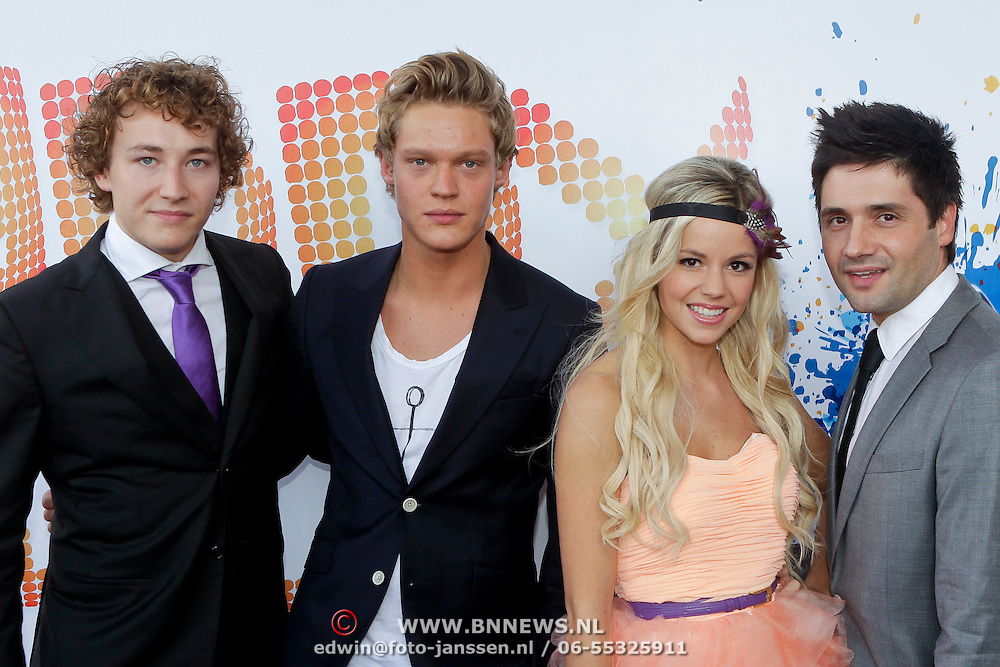 NLD/Rotterdam/20110925 - Premiere Daddy Cool, Ferry Doedens Meisje Keet, Yvonne Coldewijer en partner