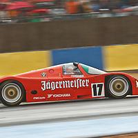 #17 Porsche 962, Christophe D'Ansembourg, Group C, Legends Race, Le Mans 24H, 2012