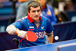 NAZIROV Rasul during day 1 of 15th EPINT tournament - European Table Tennis Championships for the Disabled 2017, at Arena Tri Lilije, Lasko, Slovenia, on September 28, 2017. Photo by Ziga Zupan / Sportida