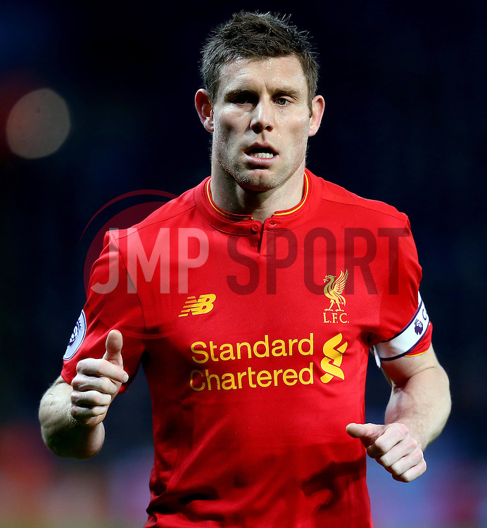 James Milner of Liverpool - Mandatory by-line: Robbie Stephenson/JMP - 27/02/2017 - FOOTBALL - King Power Stadium - Leicester, England - Leicester City v Liverpool - Premier League