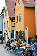 Lokal in Altkötzschenbroda, Radebeul, Sachsen, Deutschland.|.Altkötzschenbroda, Radebeul, Dresden, Saxony, Germany.