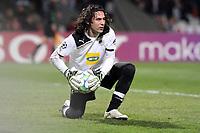 FOOTBALL - UEFA CHAMPIONS LEAGUE 2011/2012 - 1/8 FINAL - 1ST LEG - OLYMPIQUE LYONNAIS v APOEL FC - 14/02/2012 - PHOTO EDDY LEMAISTRE / DPPI - DIONISIOS CHIOTIS (APOEL)