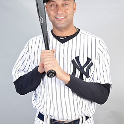 Feb 20, 2013; Tampa, FL, USA; New York Yankees shortstop Derek Jeter (2) during photo day at Steinbrenner Field. Mandatory Credit: Derick E. Hingle-USA TODAY Sports