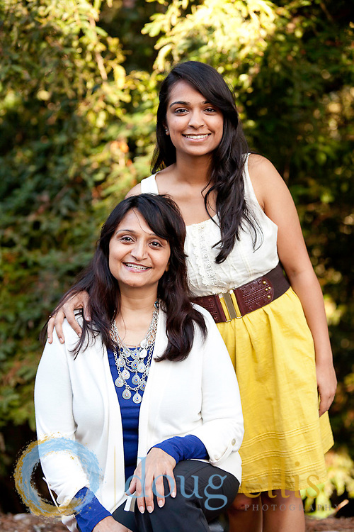 Sangita and Puja Patel mother and daughter pictures, CA.