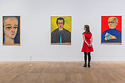 Charles Estienne, 1966, Rose Larock Granoff, 1971, and Rene Barotte, 1970 - Princess Fahrelnissa Zeid: the UK's first retrospective of a pioneering artist best known for her large-scale colourful canvases, fusing European approaches to abstract art with Byzantine, Islamic and Persian influences. The exhibition is at Tate Modern from 13 June – 8 October 2017.