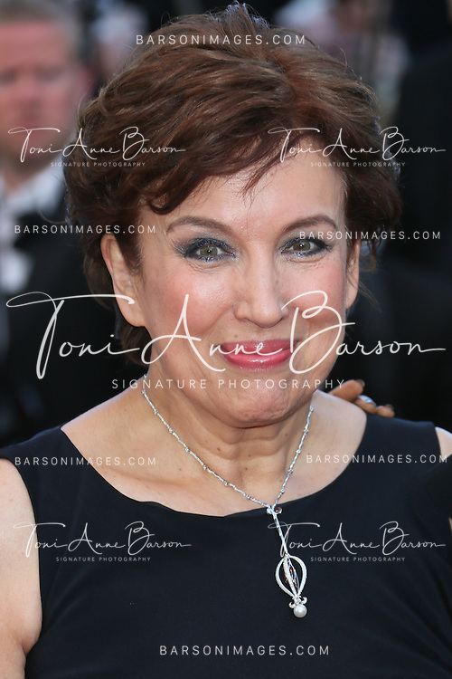 CANNES, FRANCE - MAY 24: Roseline Bachelot attends the premiere of 'The Immigrant' at The 66th Annual Cannes Film Festival on May 24, 2013 in Cannes, France.  (Photo by Tony Barson/FilmMagic)