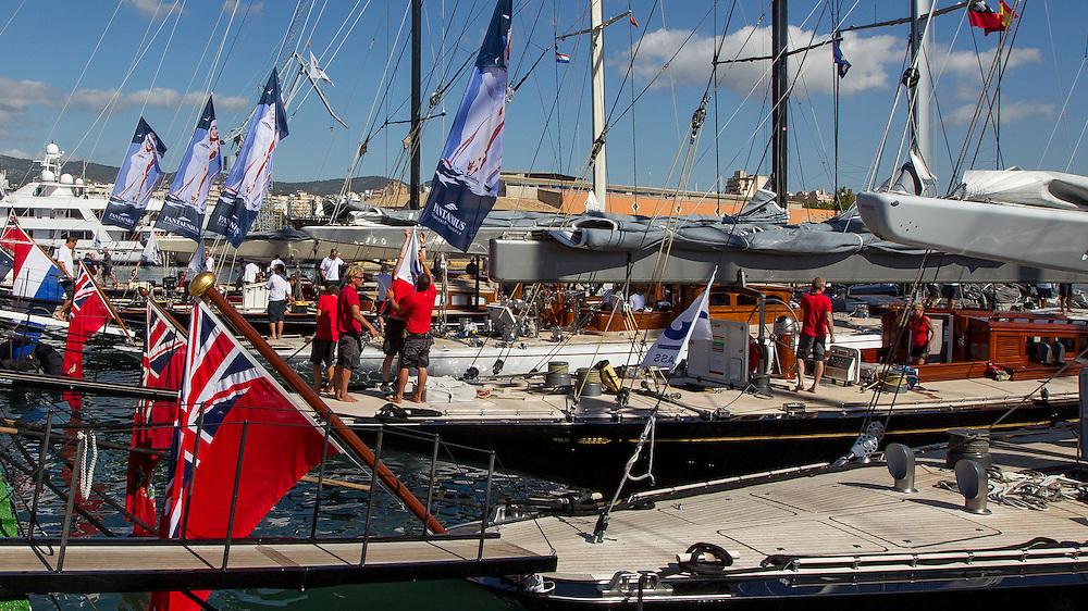 SPAIN, Palma. 20th June 2013. Superyacht Cup. J Class.
