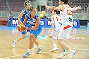 DESCRIZIONE : Riga Latvia Lettonia Eurobasket Women 2009 Quarter Final Spagna Italia Spain Italy<br /> GIOCATORE : Chiara Pastore<br /> SQUADRA : Italia Italy<br /> EVENTO : Eurobasket Women 2009 Campionati Europei Donne 2009 <br /> GARA : Spagna Italia Spain Italy<br /> DATA : 17/06/2009 <br /> CATEGORIA : passaggio<br /> SPORT : Pallacanestro <br /> AUTORE : Agenzia Ciamillo-Castoria/M.Marchi