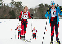 St Paul's School Nordic race.    ©2018 Karen Bobotas Photographer