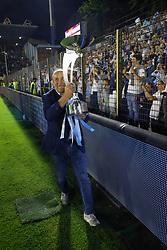 """Foto Filippo Rubin<br /> 18/05/2017 Ferrara (Italia)<br /> Sport Calcio<br /> Spal vs Bari - Campionato di calcio Serie B ConTe.it 2016/2017 - Stadio """"Paolo Mazza""""<br /> Nella foto: Francesco Colombarini<br /> <br /> Photo Filippo Rubin<br /> May 18, 2016 Ferrara (Italy)<br /> Sport Soccer<br /> Spal vs Bari - Italian Football Championship League B ConTe.it 2016/2017 - """"Paolo Mazza"""" Stadium <br /> In the pic: Francesco Colombarini"""