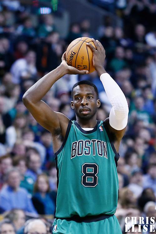 23 November 2012: Boston Celtics power forward Jeff Green (8) looks to pass the ball during the Boston Celtics 108-100 victory over the Oklahoma City Thunder at the TD Garden, Boston, Massachusetts, USA.