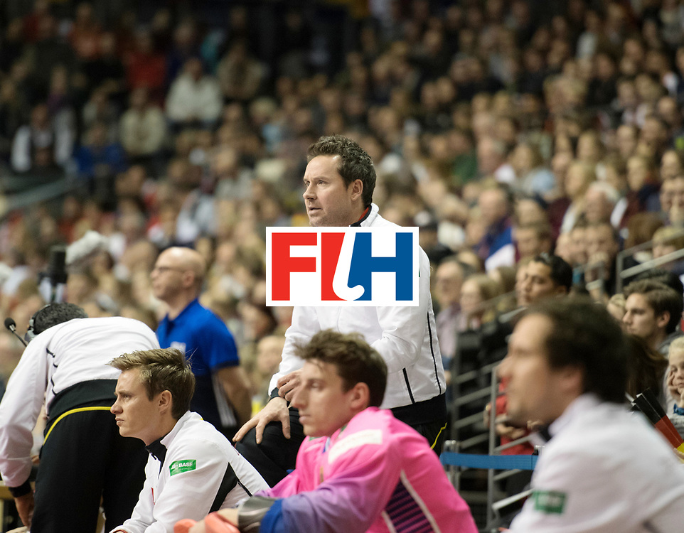 BERLIN - Indoor Hockey World Cup<br /> SF1 Germany - Iran<br /> foto: KERMAS Stefan<br /> WORLDSPORTPICS COPYRIGHT FRANK UIJLENBROEK