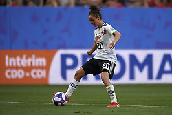June 29, 2019 - Rennes, France - Lina Magull (FC Bayern Munchen) of Germany in action during the 2019 FIFA Women's World Cup France Quarter Final match between Germany and Sweden at Roazhon Park on June 29, 2019 in Rennes, France. (Credit Image: © Jose Breton/NurPhoto via ZUMA Press)