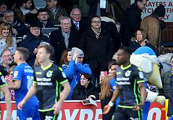 Wael Al-Qadi president of Bristol Rovers FC and Steve Hamer chairman of Bristol Rovers FC - Mandatory by-line: Robbie Stephenson/JMP - 17/02/2018 - FOOTBALL - Cherry Red Records Stadium - Kingston upon Thames, England - AFC Wimbledon v Bristol Rovers - Sky Bet League One