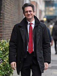 © Licensed to London News Pictures. 29/01/2019. London, UK. ERG Member STEVE BAKER is seen in Westminster, London. MPs will today (Tues) vote on a series of amendments to the Prime Minister's plans that could shape the future direction of Brexit. . Photo credit: Ben Cawthra/LNP