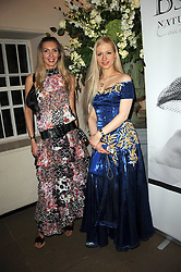 Left to right, INGA PETERSON and DOLORESA MEDNE at the 13th annual Russian Summer Ball held at the Banqueting House, Whitehall, London on 14th June 2008.<br /><br />NON EXCLUSIVE - WORLD RIGHTS