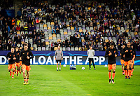 MARIBOR, SLOVENIA - OCTOBER 17: Players of Liverpool at warming up during UEFA Champions League 2017/18 group E match between NK Maribor and Liverpool FC at Stadium Ljudski vrt, on October 17, 2017 in Maribor, Slovenia. (Photo by Vid Ponikvar / Sportida)