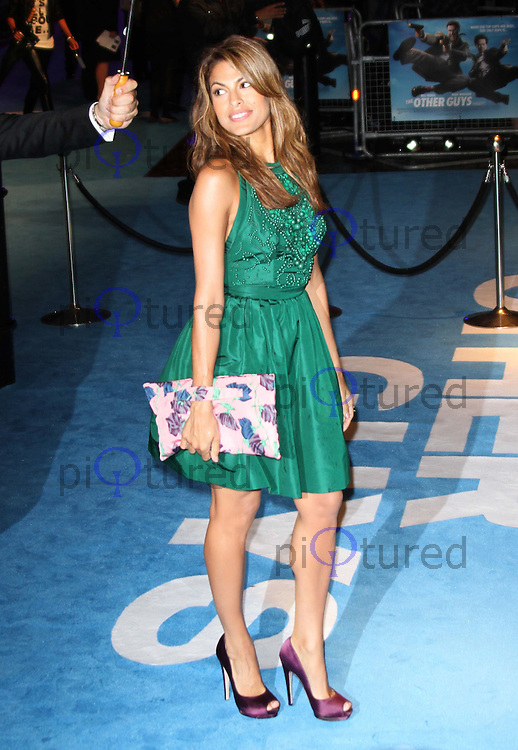 Eva Mendes The Other Guys Gala Premiere, Vue Cinema, Leicester Square, London, UK, 14 September 2010: For piQtured Sales contact: Ian@Piqtured.com +44(0)791 626 2580 (Picture by Richard Goldschmidt/Piqtured)