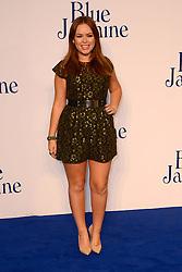 Blue Jasmine - UK film premiere. <br /> Tanya Burr arrives for the Blue Jasmine film premiere, Odeon, London, United Kingdom. Tuesday, 17th September 2013. Picture by Nils Jorgensen / i-Images