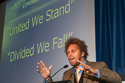 David Neita speaking at the Respect Annual conference 2010 at Prison Service college Newbold Revel
