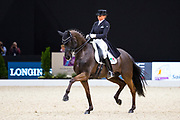 Dorothee Schneider - Sammy Davis Jr<br /> FEI Longines FEI World Cup Paris 2018<br /> © DigiShots