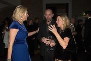 NADJA SWAROVSKI; IWONA BLAZWICK, Peter Doig  was the fourth artist to receive the  annual Art Icon award. Whitechapel Gallery. London.  26 january 2017