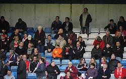 Bristol City fans - Photo mandatory by-line: Dougie Allward/JMP - Mobile: 07966 386802 - 08/11/2014 - SPORT - Football - Gillingham - Priestfield Stadium - Gillingham v Bristol City - FA Cup - Round One