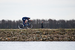 Mieke Kröger (GER) at Healthy Ageing Tour 2018 - Stage 1, an 8km individual time trial in Heerenveen on April 4, 2018. Photo by Sean Robinson/Velofocus.com