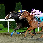 Diplomatic and Adam Kirby winning the 8.10 race