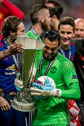 24-05-2017 SWE: Final Europa League AFC Ajax - Manchester United, Stockholm<br /> Finale Europa League tussen Ajax en Manchester United in het Friends Arena te Stockholm / Sergio Romero(GK) #20 of Manchester United