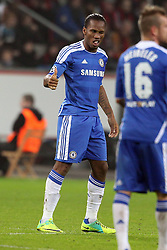 23.11.2011, BayArena, Leverkusen, Germany, UEFA CL, Gruppe E, Bayer 04 Leverkusen (GER) vs Chelsea FC (ENG), im Bild Didier Drogba (Chelsea #11) nach dem 0:1 // during the football match of UEFA Champions league, group E, between Bayer Leverkusen (GER) and FC Chelsea (ENG) at BayArena, Leverkusen, Germany on 2011/11/23.EXPA Pictures © 2011, PhotoCredit: EXPA/ nph/ Mueller..***** ATTENTION - OUT OF GER, CRO *****