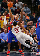 NBA - Indiana Pacers vs Detroit Pistons - Indianapolis, In 111717
