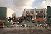 Poor Libyans find shelter in rubble of Kaddafi base Bab Al Aziziya